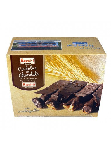 Corbatas de chocolate