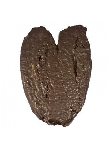 Palmera de hojaldre gigante chocolate negro