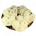 Palmeritas de hojaldre chocolate blanco